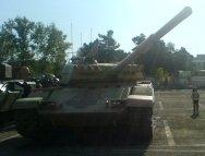 This Iranian main battle tank is named after Dhū al-Faqqār.