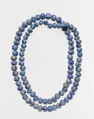 Phoenician glass beads necklaces at the Metropolitan Museum of Art.