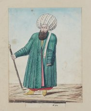 A man from Bukhara (in modern-day Uzbekistan) from the 1800s.